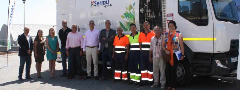 Incorporamos dos nuevos vehículos para la limpieza viaria y lavado de contenedores