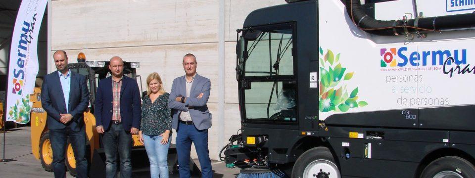 Ampliamos nuestra flota de vehículos para la limpieza viaria y mantenimiento de espacios públicos