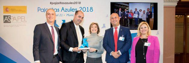 Granadilla de Abona recibe un reconocimiento nacional a la excelencia en la recogida de papel y cartón
