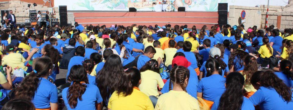 Granadilla de Abona implica a 700 escolares en la celebración del Día Mundial del Medio Ambiente y los Océanos
