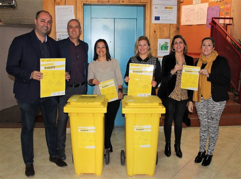 Impulsamos el reciclaje entre 4.000 estudiantes con la segunda edición del programa 'Yellow Happy People'