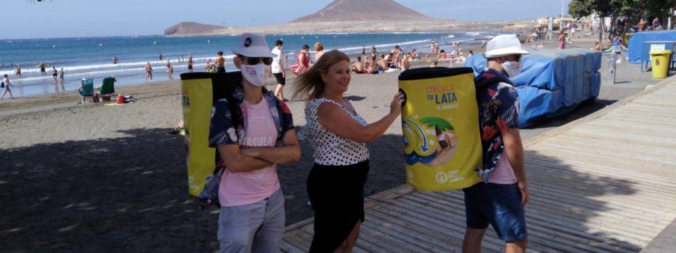 'Cada Lata Cuenta' recorrerá la playa del El Médano