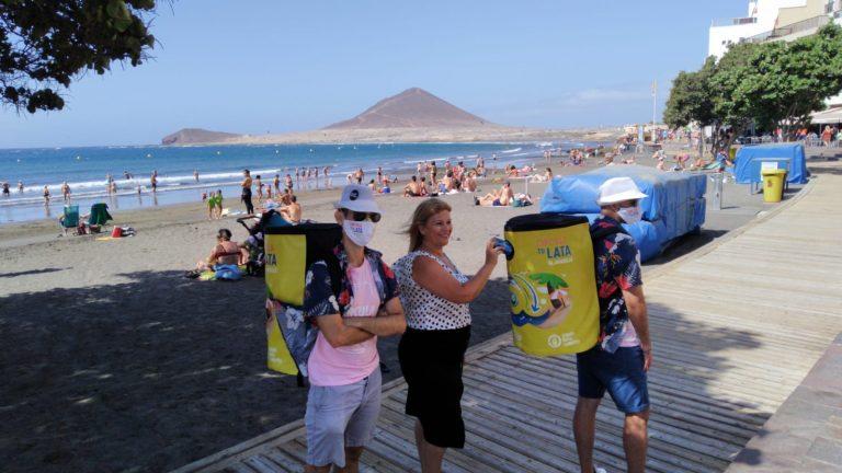 'Cada Lata Cuenta' recorrerá la playa de El Médano