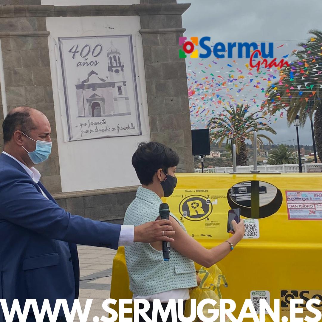 Lee más sobre el artículo Granadilla de Abona se convierte en el primer municipio canario que apuesta por el reciclaje con incentivos para la población